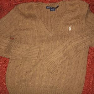 Ralph Lauren like new Tan sweater